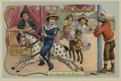 Carousel--Giclee Print