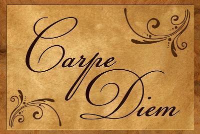 Carpe Diem Seize the Day--Art Print