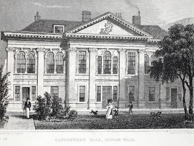 Carpenter's Hall-Thomas Hosmer Shepherd-Giclee Print
