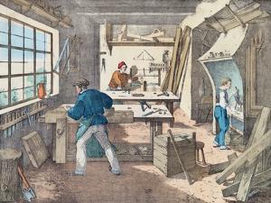 Carpenter's Workshop, C.1860