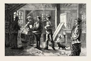Carpenters Shop, 1890
