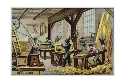 Carpentry--Giclee Print