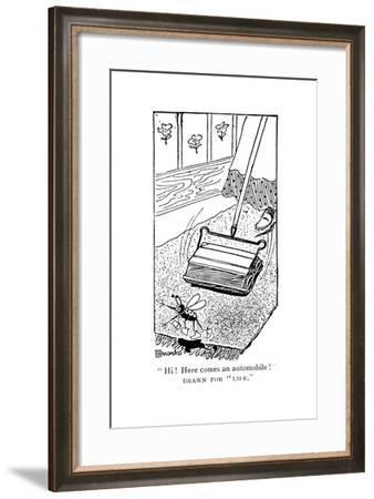 Carpet Sweeper, C1900s--Framed Giclee Print