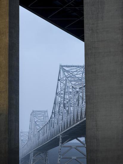 Carquinez Bridge, Crockett, California, USA-Panoramic Images-Photographic Print
