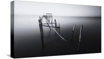 Carrasqueira In Black And White-Ivan Ferrero-Stretched Canvas Print