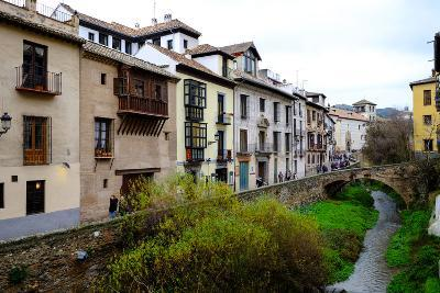 Carrera Del Darro, Granada, Andalucia, Spain-Carlo Morucchio-Photographic Print