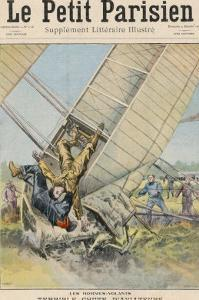Orville Wright Crashes at Fort Meyer Usa by Carrey