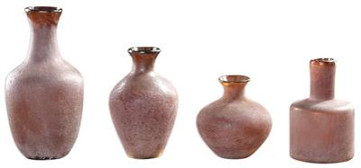 Carri Rust Red Vase Set *