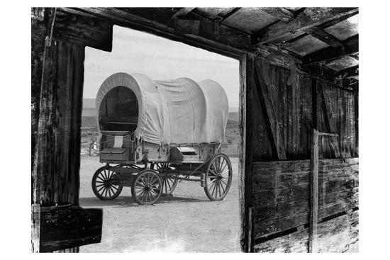 Carriage In The View-Sheldon Lewis-Photographic Print