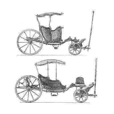 Carriages- Lucotte-Giclee Print