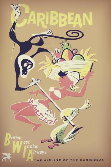 Carribean--Giclee Print