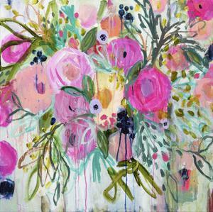 Rose Burst by Carrie Schmitt