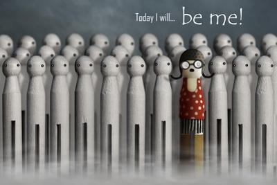 Be Me by Carrie Webster