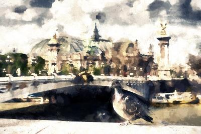 Carrier Pigeon-Philippe Hugonnard-Giclee Print