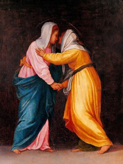 Carro della Zecca, The Visitation-Pontormo Carrucci-Art Print