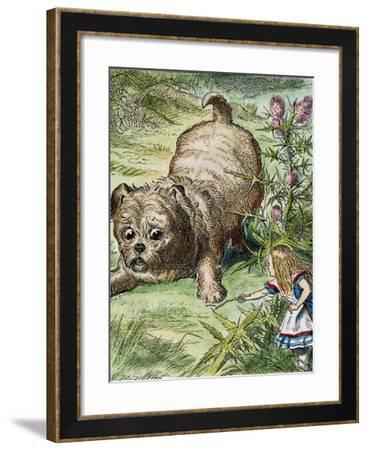 Carroll: Alice, 1865-John Tenniel-Framed Giclee Print