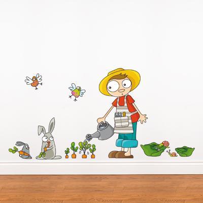 Carrots Grow Wall Decal--Wall Decal