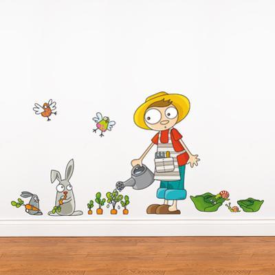 Carrots Grow Wall Decal