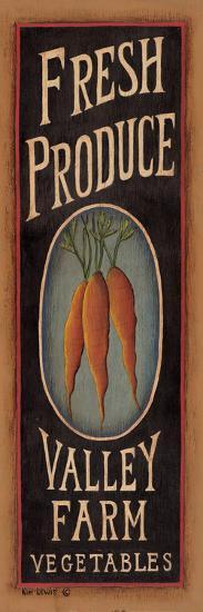 Carrots-Kim Lewis-Art Print
