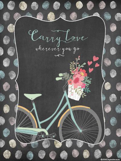 Carry Love-Jo Moulton-Art Print