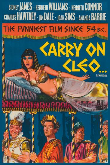 Carry on Cleo-The Vintage Collection-Giclee Print