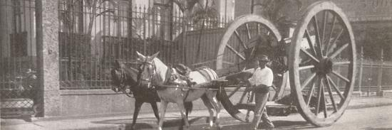 'Carrying heavy goods under instead of above the axle', 1914-Unknown-Photographic Print