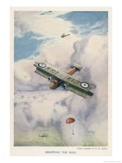 Carrying Mail by Air is Seen as a Real Possibility-G.h. Davis-Giclee Print