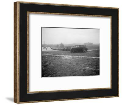 Cars at the Riley Motor Club Rally, Croydon Aerodrome, 25 April 1931-Bill Brunell-Framed Photographic Print
