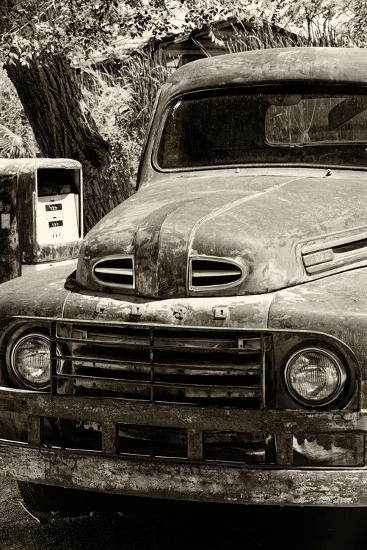 Cars - Ford - Route 66 - Gas Station - Arizona - United States-Philippe Hugonnard-Photographic Print