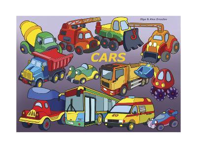 Cars-Olga And Alexey Drozdov-Giclee Print