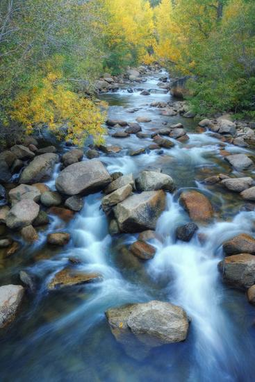 Carson River, Early Autumn Flow, Sierra Nevada-Vincent James-Photographic Print