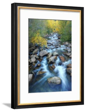Carson River, Early Autumn Flow, Sierra Nevada-Vincent James-Framed Photographic Print