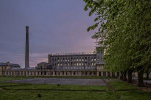 Flax Mills, Sion Mills, County Tyrone, Ulster, Northern Ireland, United Kingdom, Europe by Carsten Krieger