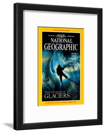 Cover of the February, 1996 National Geographic Magazine