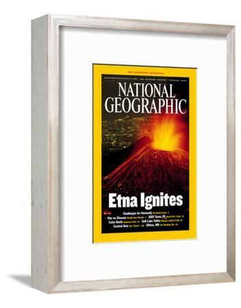 Cover of the February, 2002 National Geographic Magazine