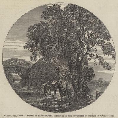 Cart Lodge, Sussex-Harrison William Weir-Giclee Print