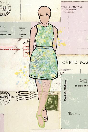 Carte de la Mode III-Clara Wells-Giclee Print
