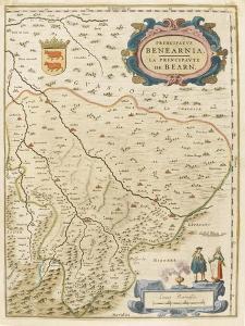 Carte de la principauté de Béarn