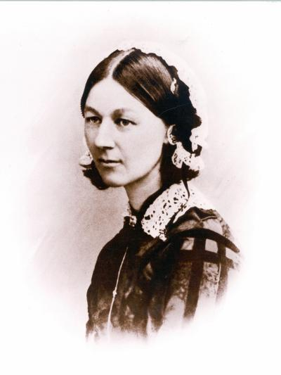 Carte De Visite Photograph of Florence Nightingale, by H. Lenthall, C.1856--Photographic Print