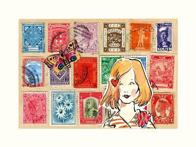 Carte Postal VI-Claire Fletcher-Art Print