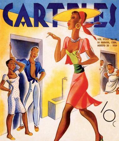 Carteles, Retro Cuban Magazine, Local Havana Beauty II