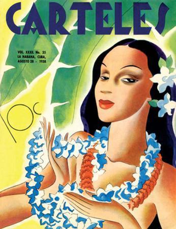 Carteles, Retro Cuban Magazine, Local Havana Beauty