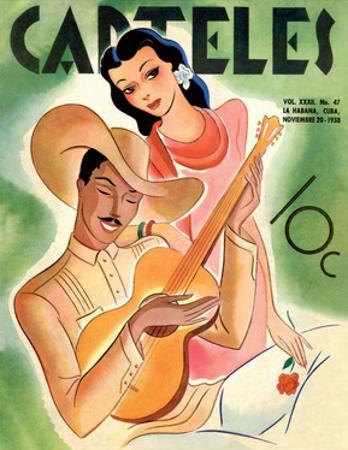 Carteles, Retro Cuban Magazine, Serenade for the Senorita