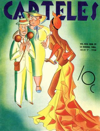 Carteles, Retro Cuban Magazine, Tourists