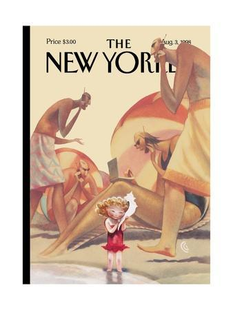 The New Yorker Cover - August 3, 1998