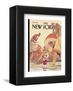 The New Yorker Cover - August 3, 1998 by Carter Goodrich