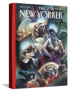The New Yorker Cover - December 11, 1995 by Carter Goodrich
