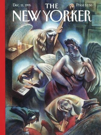 The New Yorker Cover - December 11, 1995