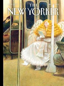 The New Yorker Cover - December 12, 2011 by Carter Goodrich