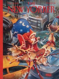 The New Yorker Cover - December 19, 1994 by Carter Goodrich